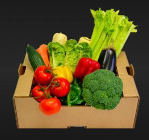 China Customized Tomato Packing Boxes With Handle UV / Varnishing Coating wholesale
