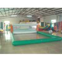 China 0.9mm PVC Inflatable Beach Volleyball Court For Inflatable Water Parks wholesale