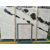 China Panda White Marble Slab Tile for Interior exterior Wall Cladding Flooring stairs wholesale
