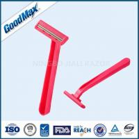 China No Electric Plastic Double Edge Razor With Fixed Head And Comfortable Plastic Handle wholesale