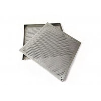 China Width 1m Perforated Mesh Sheet , Decorative Perforated Sheet Metal 3mm Hole wholesale