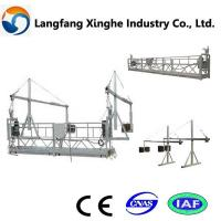 China building cleaning lift gondola/aerial suspended working platform for window glass cleaning wholesale