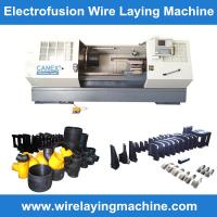 canex wire laying machine molds manufacturing electro fusion fittings, pe coupling wire la