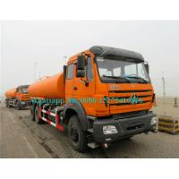China 6X6 25000L Water Sprinkler Truck / Water Carrier Truck All Wheel Drive North Benz Brand wholesale