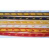 China 16mm polyester metallic motif horse ribbon woven ribbon plain ribbon wholesale