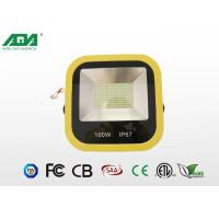 China Professional High Power Waterproof 100w Outdoor LED Flood Lights 2800-3300K ,  6000-6500k wholesale