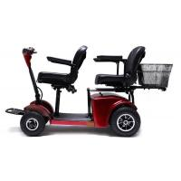 China Two seats Electric Mobility Travel Scooter For Elder , Handicapped Folding Electric scooter wholesale