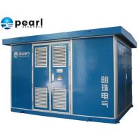 China 22 KV - Class Blue Prefabricated Substations Movable Compact Transformer Substation wholesale