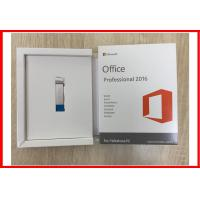 Buy cheap English Microsoft Office 2016 Professional Retail Product Key With USB 3.0 from wholesalers