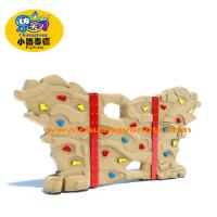 China Kids Outdoor Rock Climbing Wall , Amusement Park Rock Wall Climbing For Kids wholesale