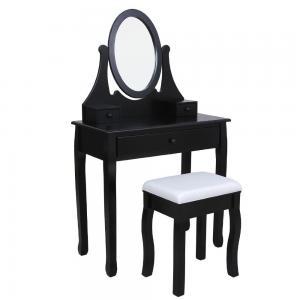 China China furniture Design Luxury Bedroom vanities Set with Antique mirror wholesale