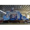 China Corrediça inflável do leão-de-chácara da rainha azul exterior da neve dos esportes para crianças wholesale