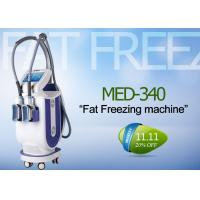 China Safety Cryolipolysis Fat Freeze Slimming Machine For Cellulite Reduction / Weight Loss wholesale
