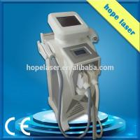 China Home Beauty Ipl Hair Removal Equipment SHR + RF + Nd Yag + Elight 4 In 1 3 Handles wholesale