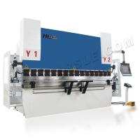 China CNC Synchronized  110T DA66T Controller Capacity 3200mm Length Press Brake wholesale