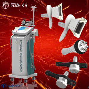 Quality Newest Cryolipolysis slimming Machine With Cold Wave Cooltherapy Beauty Equipment for sale