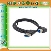 China USB 3.0 Right Angle A to B Cable ,USB3.0 printer cable wholesale