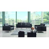 China Modern European Furniture Genuine Leather Sofa Florence Knoll Contemporary Sofa on sale