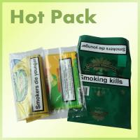 OEM Service Empty Flavored Plastic Tobacco Pipe Pouches With Top Zip Personalised