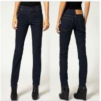 China 2013 new style skinny jean pants for women in indigo wholesale
