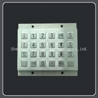 China Waterproof Custom Keyboard Pad Metal Material For Door Access / Express Cabinet wholesale