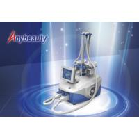 China Anti - Puffiness Cryolipolysis Slimming Machine 2 Handles Cellulite Removal Machine wholesale