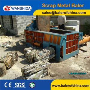 China Aluminum scrap metal balers on sale