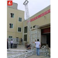 China Hang Line Array Speaker Truss 8M Speaker Hanging Truss System 1.1T Max Loading wholesale