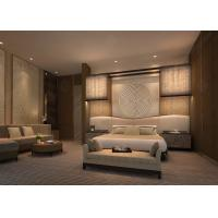 China 5 Star Luxury Hotel Bedroom furniture bed room set , deluxe hotel furniture set on sale