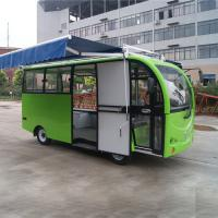China Metal Mobile Vending Cart / Mobile Bakery Cart Rust Resistant High Security wholesale