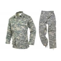 China TC 6535 Or TR8020 Military Camouflage Uniforms Adhesive Panels On The Arms on sale