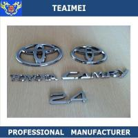 China Wholesale Toyota emblems for cars Logo Silver Chrome Grill Emblem Badges wholesale