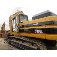 China 330B used caterpillar excavator for sale USA   tractor excavator 5000 hours 600mm chain CAT 3066 eng  excavator for sale wholesale