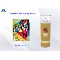 Aerosol Acrylic Art Graffiti Spray Paint Cans for Artist with Normal , Fluo , Metallic Color
