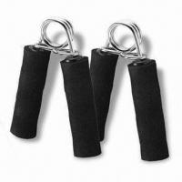China A-shaped Hand Grip, Made of Steel Ring and Foam Handle, Comfortable when Pinch wholesale