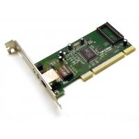 China Small PCB with BootROM for Diskless,Realtek 8139D PCI 100M PCI Lan Card LED indicator for monitoring link/activity on sale
