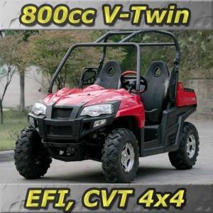 China 800cc 4x4 CVT Recreational UTV W/ V-Twin EFI Engine wholesale