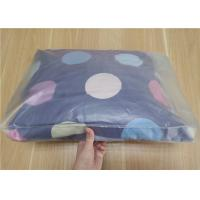 China Clear PVC Packaging Bags With Button For Pillow And Four Piece Suit Package wholesale