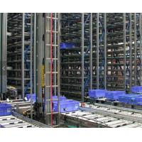 China Robot Welding ASRS Warehouse System , Radio Shuttle Racking With Laser Positioning Technology wholesale