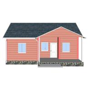 China Heya-2B08-B Prefabricated House In Puerto Rico Prefab Sandwich Panel House Kits on sale