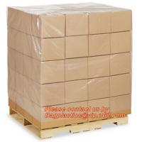 LDPE Bin lliners Gaylord Liners Pallet Top Covers, 4 Mil Clear Pallet Covers, Customized plastic reusable pallet covers