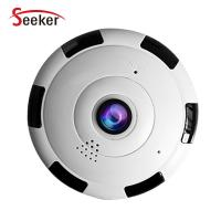 Buy cheap New Hot Sale CCTV VR Security Home Wireless Cameras 1080P Panoramic Fisheye Wifi Network IP Camera Indoor from wholesalers