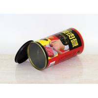 China Eco Friendly Kraft Paper Powder Food Cans Packaging 150 Mm With Customized Logo wholesale