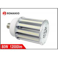 China High lumen 80w E40 Led Corn Light Street Lighting For 400w Metal Halide Replacement on sale