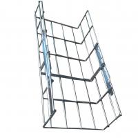 China 200*100mm straight welded wire mesh basket cable tray, stainless steel 201 / 202 / 304 wholesale