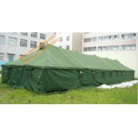 China 150 People Big Outdoor Military Tent Pole-style Galvanized Steel Waterproof  Army Camping Tents wholesale
