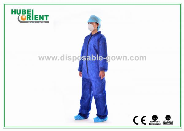 Quality Anti Virus Disposable Apparel Adults Nonwoven Safety Protective Clothing for sale