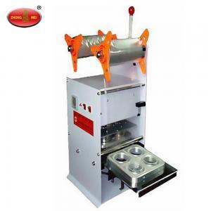 China Manual/Semi-auto NC4 Manual Plastic Cup Sealing Machine Packing Machine on sale