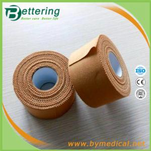 China Allcare Ridged Strapping Tape 3.8cm x 13.7m Tan colour wholesale