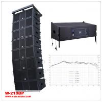 China Powered Dual 10 Inch Audio Active 800 Watt Two-Way Water-Proof Line Array System wholesale